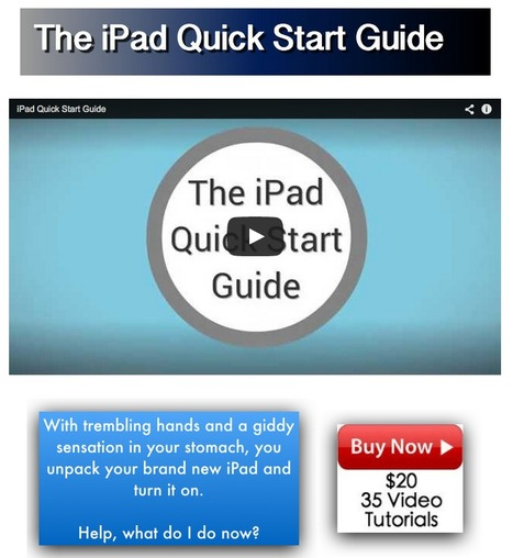 iPad Quick Start Guide | mrpbps iDevices | Scoop.it