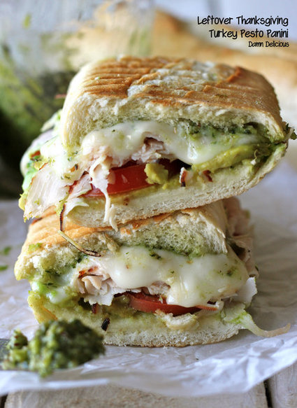 #Recipe - Turkey Pesto Panini | Yummy | Scoop.it