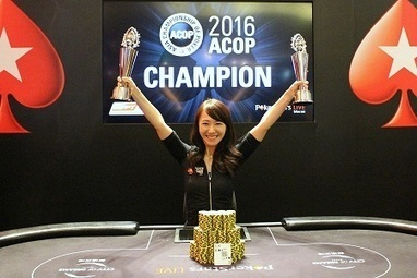 2016 ACOP: China's Celina Lin Wins Her Second Spadie for HKD 475,350 - Online Poker News | rejdeep7830 | Scoop.it