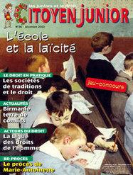 L'école et la laïcité   Citoyen Junior n° 26   Citoyen Junior   Scoop.it
