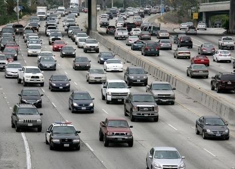 Los Ángeles es ciudad con peor tráfico en EEUU - La Opinión | Vida diaria en las ciudades del mundo | Scoop.it