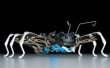 Festo's Fantastical Insectoid Robots Include Bionic Ants and Butterflies | Biomimicry | Scoop.it