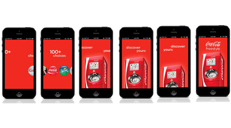 Coca-Cola Freestyle Launches New Mobile App | ICT showcases 2013 | Scoop.it