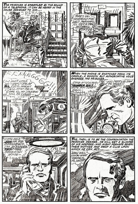 "The Legendary Jack Kirby's Comic Book of The Prisoner - Flashbak | Jack ""King"" Kirby 