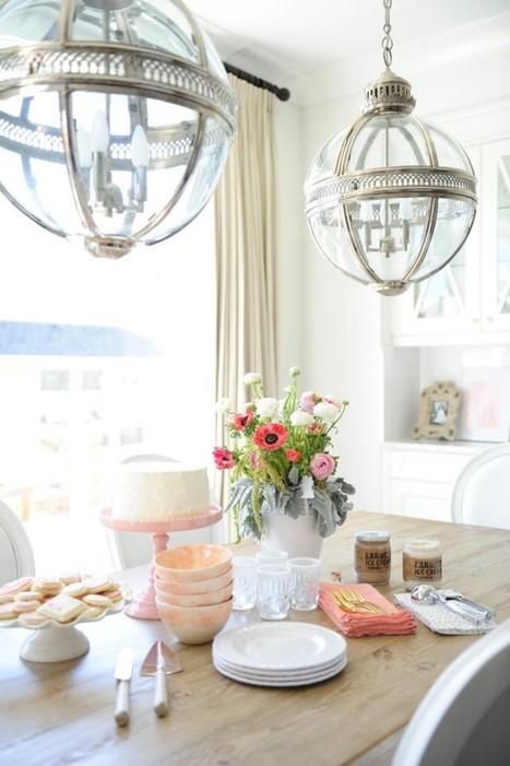 Visite – une maison chic et raffinée – Cocon de décoration: le blog | Lifestyle | Scoop.it