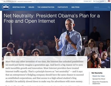 Obama : Internet est un service public | Méta-media | CLEMI. Infodoc.Presse  : veille sur l'actualité des médias. Centre de documentation du CLEMI | Scoop.it
