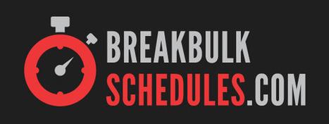 Break Bulk Schedules provides weekly break bulk sailing dates from UK ports to locations worldwide... | Social Mercor | Scoop.it