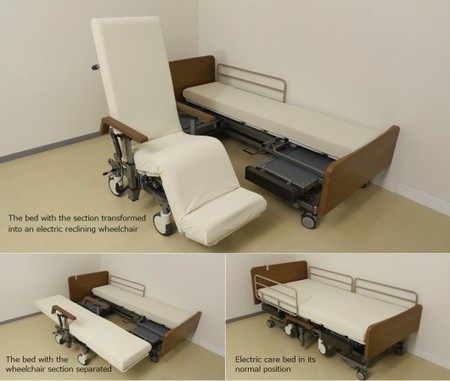 Panasonic's robotic bed/wheelchair first to earn global safety certification | Longevity science | Scoop.it