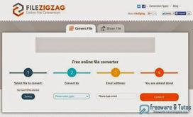 FileZigZag : un nouveau service en ligne de conversion et de partage de fichiers   Bons plans Wordpress   Scoop.it