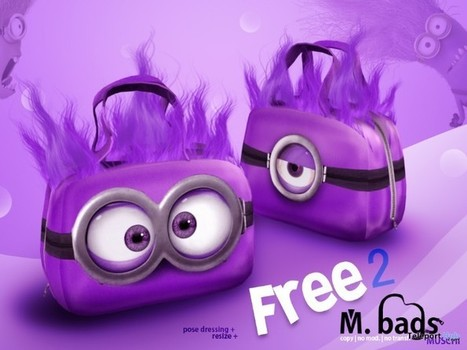 M2 Bags Purple by MUSCHI | Teleport Hub - Second Life Freebies | Second Life Freebies | Scoop.it
