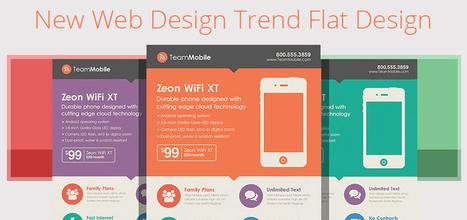 New Web Design Trend: Flat Design | multimedia | Scoop.it