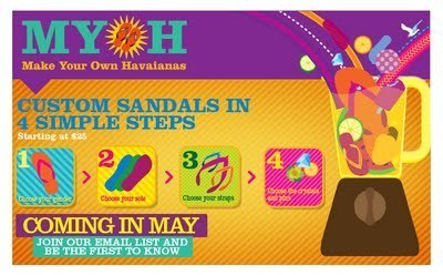 the beauty alchemist: Havaianas - Make Your Own | Havaianas | Scoop.it