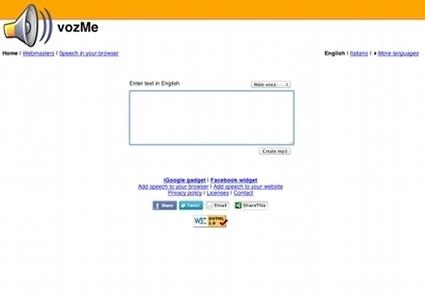 Des sites pour convertir un texte en MP3 | Le Top des Applications Web et Logiciels Gratuits | Scoop.it