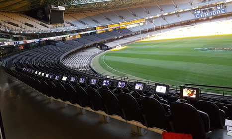 Smart Seats Are The Future Of In-Stadium Entertainment | Pub, média et digital sport | Scoop.it