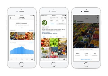 Instagram officialise enfin les profils Business (pages entreprises) et les statistiques - Blog du Modérateur | Médias sociaux : Conseils, Astuces et stratégies | Scoop.it