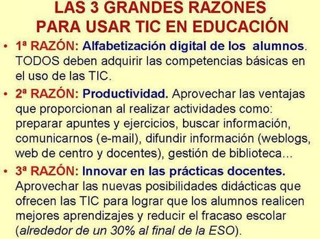 Las TIC en la Educación como recurso de enseñanza y aprendizaje | Discover and share the use of Information and Communications Technology in education. | Scoop.it