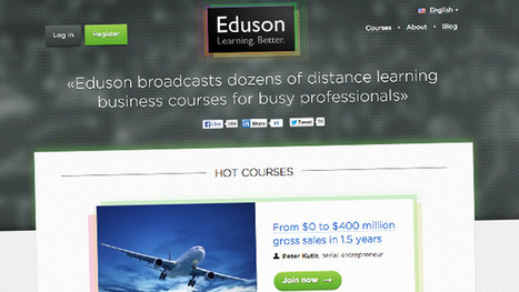 MOOC Newcomer Offers Online Business Courses Taught by Pros, Not Profs | TRENDS IN HIGHER EDUCATION | Scoop.it