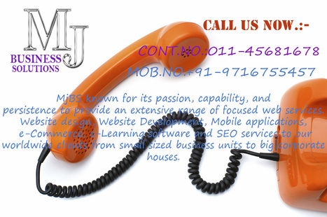 Contact us for affordable web related service in East Delhi ! | Majestic Business Solutions | Scoop.it