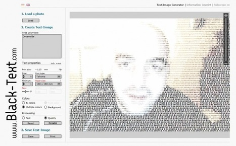 Black-text – Convertir une image en texte   SlyDnet   Ma boîte à outils   Scoop.it