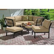 Ragan Meadow 7-Piece Outdoor Sectional Sofa Set, Seats 5 | +++ Special Sale | Scoop.it