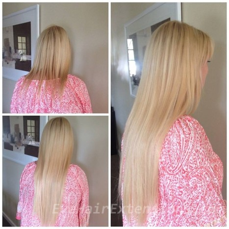Tape Hair Extensions | Eve Hair Extensions Sydney | Human Hair Extensions | Scoop.it