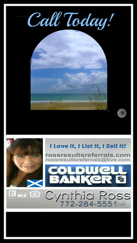 MELBOURNE FL Homes and Real Estate - Coldwell Banker Residential Real Estate I LOVE IT I LIST I SELL IT! | VISUAL PROSPERITY by Cynthia Bluenscottish Ross | Scoop.it
