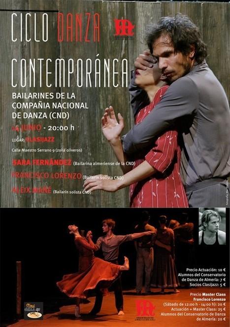 Ciclo de Danza Contemporánea - Fundación Indaliana para la Música y las Artes   Terpsicore. Danza.   Scoop.it