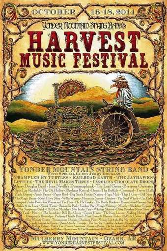 Yonder Announces Harvest Music Festival Lineup | Acoustic Guitars and Bluegrass | Scoop.it