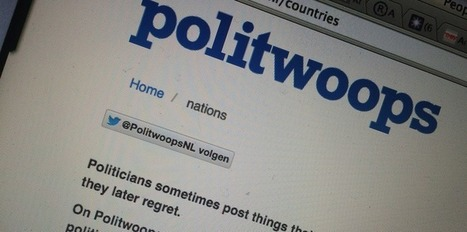 Twitter has killed Politwoops, which kept an eye on politicians | digitalcuration | Scoop.it