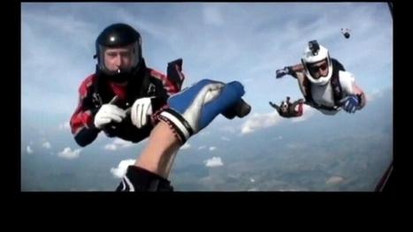 Helmetcam Shows Unconscious Skydiver's Descent - ABC News | CLOVER ENTERPRISES ''THE ENTERTAINMENT OF CHOICE'' | Scoop.it