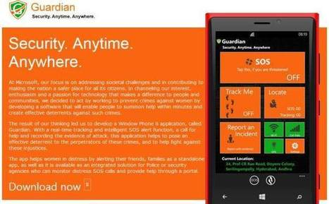 Microsoft Launches Women's Safety App – Guardian : Web, Mobile & Big Data Blog   Mobile Application Development   Scoop.it