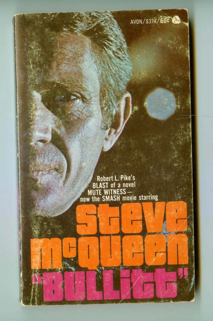 Steve McQueen is Bullitt Vintage Avon Paperback Version of the Film based on Robert L. Pike's novel Mute Witness 1960s Cool | Antiques & Vintage Collectibles | Scoop.it