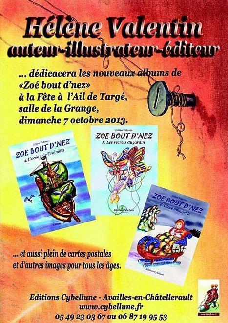 Les Dédicaces de Zoé à la fête à l'ail 2012 | Chatellerault, secouez-moi, secouez-moi! | Scoop.it