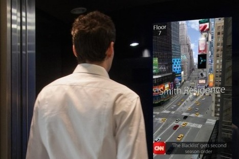 Elevator Screen Creates Interactive Experiences On Everyday Rides [Video] - PSFK | Connecting Cities | Scoop.it