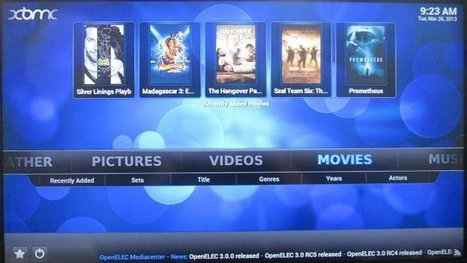OpenELEC 3.0.0 on Raspberry Pi – Installation and Video Tests | Embedded Systems News | Scoop.it