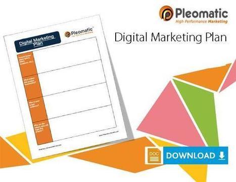 Free Download! Digital Marketing Plan in Word format | Tracking B2B Sales and Marketing Metrics | Scoop.it