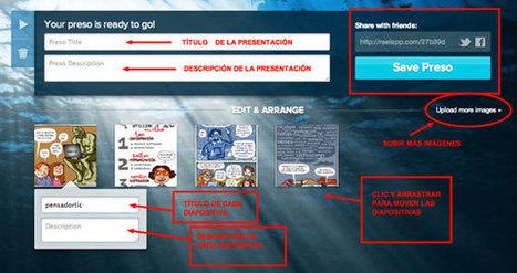 Cómo crear presentaciones online de forma fácil y rápida | Nuevas tecnologías aplicadas a la educación | Educa con TIC | Teachelearner | Scoop.it