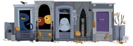 Un nouveau Doodle pour célébrer l'Halloween | Créations 2D et 3D | Scoop.it
