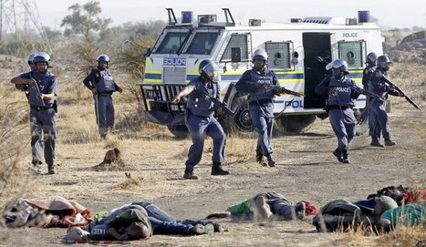 South Africa: Killing of 34 Marikana Mine Strikers - The Role of British Company Lonmin | International Trade and Multinationals | Scoop.it