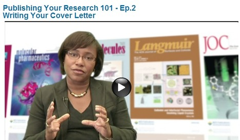 Video: Publishing Your Research 101 - Ep. 2 (ACS Publications) | Self-studying contents | Scoop.it