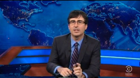 John Oliver rebukes CNN for simultaneously destroying rock music and the news | Daily Crew | Scoop.it