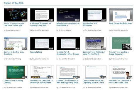 Biblioteca de recursos educativos en vídeo listos para usar | ebookPC | Scoop.it