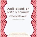 Multiplication with Decimals Showdown!   Fractions and Decimals   Scoop.it