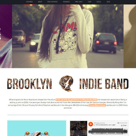 Best Music WordPress Themes for Musicians - Want More People To Hear?   WordPress   Scoop.it
