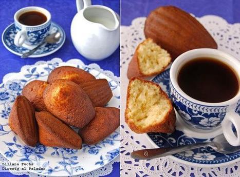 Receta de madeleines de lavanda | #DIRCASA - El Buen Comer!!!! | Scoop.it