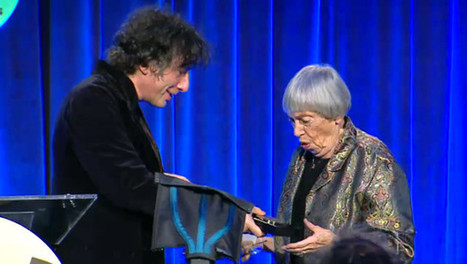Ursula K. Le Guin Burns Down the National Book Awards | Professional development of Librarians | Scoop.it