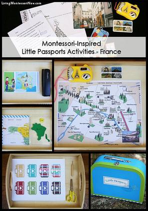 Montessori-Inspired Little Passports Activities – France | Montessori Inspired | Scoop.it
