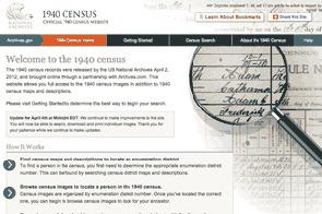 Recensement américain de 1940 : la mise en ligne remporte un vif succès | GenealoNet | Scoop.it