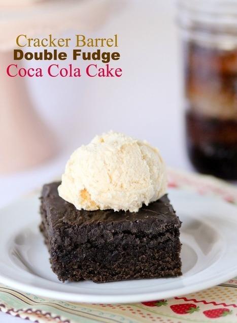 Cracker Barrel Double Fudge Coca Cola Cake | lovemefood | Scoop.it