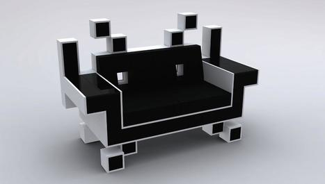Igor Chak  + Space Invader Couch | Art, Design & Technology | Scoop.it